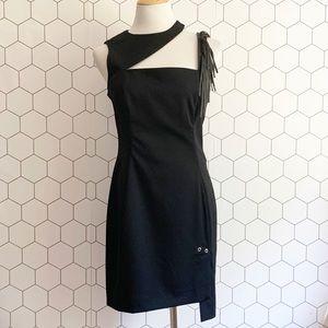 Versus Versace black cocktail dress